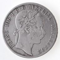 Ausztria 1870A 1Fl Ag 'Ferenc József' T:2-,3 Austria 1870A 1 Florin Ag 'Franz Joseph' C:VF,F Krause KM#2221 - Coins & Banknotes