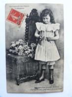 CPA - La Légende Des Fleurs - La Marguerite - Comme Ma Soeur Suzanne !... Il M'aime... Fillette - Enfants