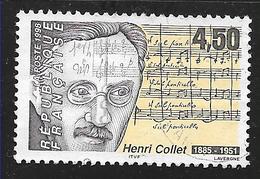 FRANCE 3163 Compositeur Henri Collet. - France