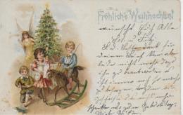 AK 0160  Fröhliche Weihnachten Um 1908 - Weihnachten