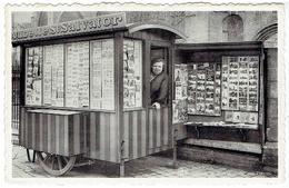 BRUGES - Aubette St Salvator - Rue Des Pierres - Vendeuse De Cartes Postale - Postkaartenverkoopster - Edit. A.Brusselle - Brugge