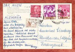 AK Teneriffa, MiF Gemaelde Murillo U.a., Nach Kaufbeuren 1960 (69651) - 1951-60 Briefe U. Dokumente