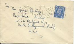 GB 1947, Brief V. Southampton An Hollywood Movie Star Gene Autry! #3017 - Sin Clasificación