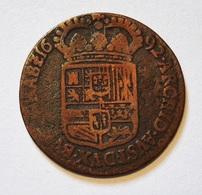 SPANISH NETHERLANDS. LIARD 1692 CAROLUS II. PAYS BAS ESPAGNOLS. - Belgio