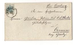 AUSTRIA1850:Michel5x III On Cover - Briefe U. Dokumente