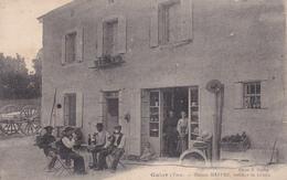 CPA Animée (81) GUIOR Maison MAFFRE Tailleur De Granit (2 Scans) - France