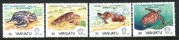 Vanuatu 1992 Turtles Set MNH (SG 609-612) - Vanuatu (1980-...)