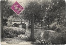 D45 - BONNY SUR LOIRE - LES BORDS DE LA CHEUILLE - Quelques Personnes Sur Le Pont - Francia