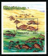 Vanuatu 1992 Turtles MS MNH (SG MS613) - Vanuatu (1980-...)