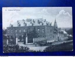 Pécrot/-cpa Du Château De Florival-animée-1920 - Grez-Doiceau