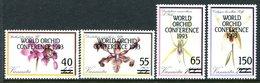 Vanuatu 1993 World Orchid Conference Set MNH (SG 618-621) - Vanuatu (1980-...)
