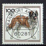 *BRD 1996 // Mi. 1838 O - Hunde