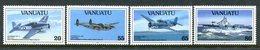 Vanuatu 1993 50th Anniversary Of Outbreak Of The Pacific War - 2nd Issue Set MNH (SG 623-626) - Vanuatu (1980-...)