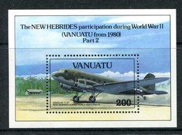 Vanuatu 1993 50th Anniversary Of Outbreak Of The Pacific War - 2nd Issue MS MNH (SG MS627) - Vanuatu (1980-...)