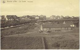 KNOCKE - S/ Mer - Le Zoute - Panorama - Knokke