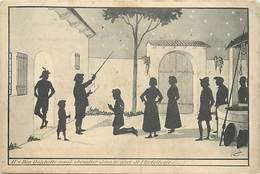 Themes Div-ref Z890- Silhouettes - Silhouette -don Quichotte - Illustrateurs - Dessin Illustrateur Coulon - - Silhouettes