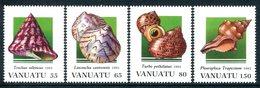 Vanuatu 1993 Shells - 1st Issue Set MNH (SG 644-647) - Vanuatu (1980-...)