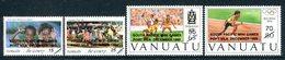 Vanuatu 1993 South Pacific Mini Games Set MNH (SG 652-655) - Vanuatu (1980-...)