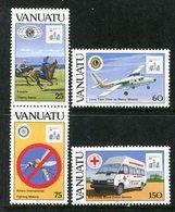 Vanuatu 1994 Hong Kong '94 - Charitable Organizations Set MNH (SG 656-659) - Vanuatu (1980-...)