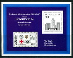 Vanuatu 1994 Hong Kong '94 - Charitable Organizations MS MNH (SG MS660) - Vanuatu (1980-...)