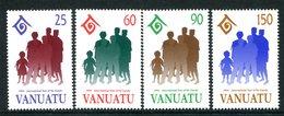 Vanuatu 1994 International Year Of The Family Set MNH (SG 661-664) - Vanuatu (1980-...)