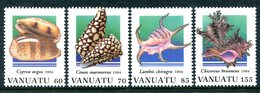Vanuatu 1994 Shells - 2nd Issue Set MNH (SG 665-668) - Vanuatu (1980-...)