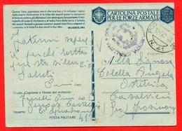 FRANCHIGIA-PM 41-SQUADRONE GENOVA CAVALLERIA- X CASALVIERI FROSINONE - Guerra 1939-45