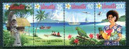 Vanuatu 1994 Tourism Set MNH (SG 669-672) - Vanuatu (1980-...)