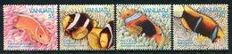 Vanuatu 1994 Anemonefish Set MNH (SG 674-677) - Vanuatu (1980-...)
