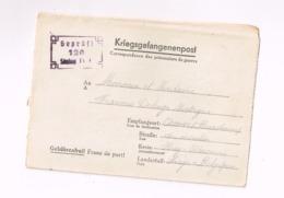 Kriegsgefangenensendung.Expédié Du Stalag IV C à Acosse (Burdinne/Belgique) - Allemagne