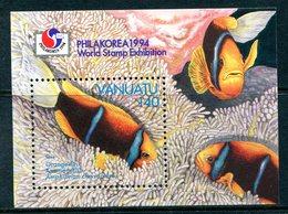 Vanuatu 1994 Anemonefish MS MNH (SG MS678) - Vanuatu (1980-...)