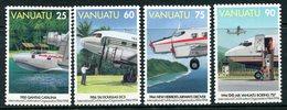 Vanuatu 1994 50th Anniversary Of Civil Aviation Organization Set MNH (SG 679-682) - Vanuatu (1980-...)