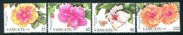 Vanuatu 1995 Hibiscus Flowers - 2nd Issue Set MNH (SG 683-686) - Vanuatu (1980-...)
