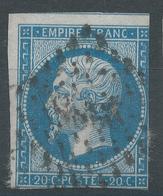 Lot N°46073  N°14B, Oblit PC 2986 St-Antonin, Tarn-et-Garonne (85), Ind 7, Ni Pli, Ni Clair - 1853-1860 Napoleon III
