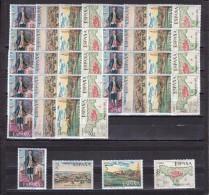 España Nº 2107 Al 2110 - 10 Series - 1931-Hoy: 2ª República - ... Juan Carlos I