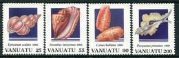 Vanuatu 1995 Shells - 3rd Issue Set MNH (SG 692-695) - Vanuatu (1980-...)