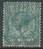 1924-26 GREAT BRITAIN USED SG 428 10d - F23 - Usati