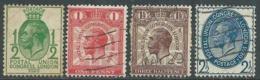1929 GREAT BRITAIN USED NINTH UPU CONGRESS LONDON SG 434/7 SET OF 4 - F22-8 - Usati