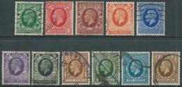 1934-36 GREAT BRITAIN USED SG 439/49 SET OF 11 - F22-10 - Usati