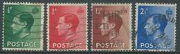 1936 GREAT BRITAIN USED SG 457/60 SET OF 4 - F23-2 - Usati