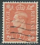 1937-47 GREAT BRITAIN USED SG 465 2d - F23-2 - Usati