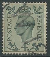 1937-47 GREAT BRITAIN USED SG 468 4d - F23-2 - Usati