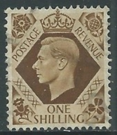 1937-47 GREAT BRITAIN USED SG 475 1s - F23-2 - Usati