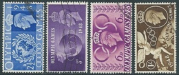 1948 GREAT BRITAIN USED OLYMPIC GAMES OF LONDON SG 495/8 SET OF 4 - F23-8 - Usati