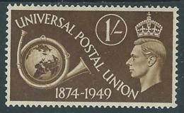 1949 GREAT BRITAIN UPU SG 502 1s MH * - F23-8 - 1902-1951 (Re)