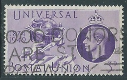 1949 GREAT BRITAIN USED UPU SG 500 3d - F23-8 - Usati