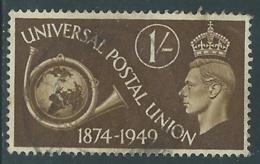 1949 GREAT BRITAIN USED UPU SG 502 1s - F23-8 - Usati
