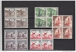 España Nº 2129 Al 2133 En Bloque De Cuatro - 1931-Hoy: 2ª República - ... Juan Carlos I