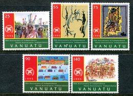 Vanuatu 1995 15th Anniversary Of Independence Set MNH (SG 696-700) - Vanuatu (1980-...)