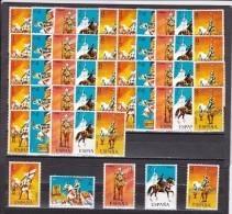 España Nº 2139 Al 2143 - 10 Series - 1931-Hoy: 2ª República - ... Juan Carlos I